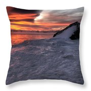 Simple Equilibrium Throw Pillow