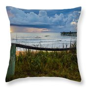 Simple Flager Throw Pillow
