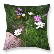 Simple Flowers 11460 Throw Pillow