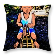 Simple Joy Throw Pillow