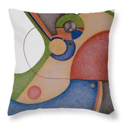 Simple Machine I Throw Pillow