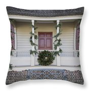 Simple Magnolia And Pine Throw Pillow