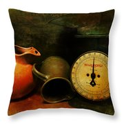 Simple Measures Throw Pillow