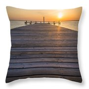Simple Setting Throw Pillow