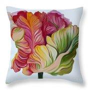 Simple Tulip Throw Pillow