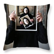 Simply A Matter Of Timing Throw Pillow