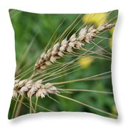 Simply Dried Grass Throw Pillow