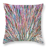 Simply Grass 2 Throw Pillow