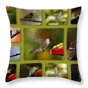 Simply Sipping Throw Pillow