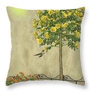 Simply Spring Throw Pillow