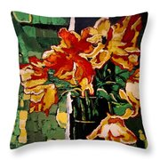 Simply Summer Throw Pillow by Vickie Warner