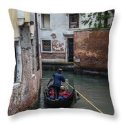 Simply Venice Throw Pillow
