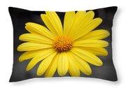 Simply Yellow Throw Pillow