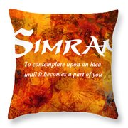 Simran Throw Pillow
