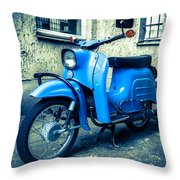 Simson Schwalbe Kr51 Throw Pillow