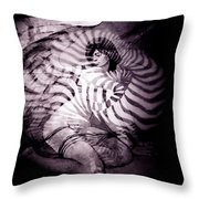 Simulacrum -3.4 Throw Pillow by Alex Zhul