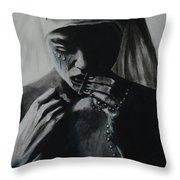 SIn Throw Pillow
