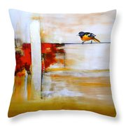 Sin Entender Throw Pillow