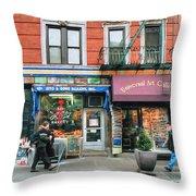 259 Bleecker Street  Throw Pillow