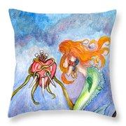 Sindaria Of The Seven Sorrows  Throw Pillow