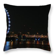 Singapore 2 Throw Pillow