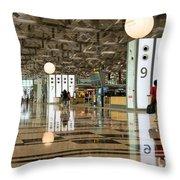 Singapore Changi Airport 03 Throw Pillow
