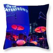 Singapore Drum Set 01 Throw Pillow