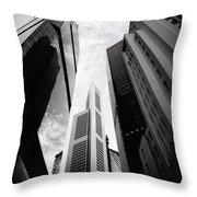 Singaporean Vertigo Throw Pillow