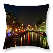 Singel Subdued Throw Pillow