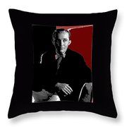 Singer And Actor Bing Crosby Circa 1934-2014 Throw Pillow