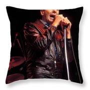 Singer Freddie Canon Throw Pillow