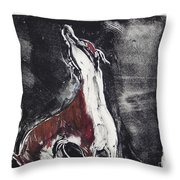 Singing For Joy Throw Pillow