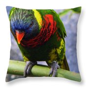 Single Beauty Throw Pillow