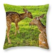 Single Parent Throw Pillow
