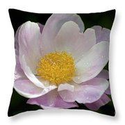 Single Peonie  8444 Throw Pillow
