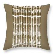 Singles In Gold Throw Pillow