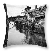 Sinking Throw Pillow