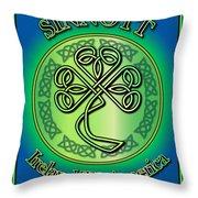 Sinnott Ireland To America Throw Pillow