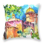 Sintra Castle 02 Throw Pillow