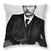 Sir Arthur Conan Doyle (1859-1930) Throw Pillow