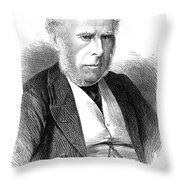 Sir Charles Locock Throw Pillow