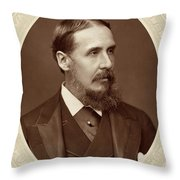 Sir Charles R Throw Pillow
