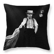 Sir Elton John Throw Pillow