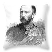 Sir Evelyn Wood Throw Pillow