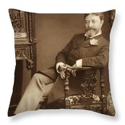 Sir Francesco Paolo Tosti Throw Pillow