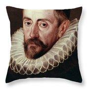 Sir Francis Walsingham (c1532-1590) Throw Pillow
