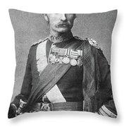 Sir George Stewart White (1835-1912) Throw Pillow