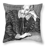 Sir Henry Wotton (1568-1639) Throw Pillow