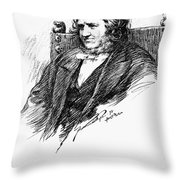 Sir James Young Simpson Throw Pillow