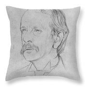 Sir J.j. Thomson (1856-1940) Throw Pillow